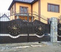 Ворота кованые #075