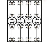 Кованные решетки на окна #16