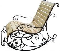 Кованые кресла-качалки #28