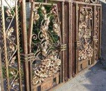 Ворота кованые #024