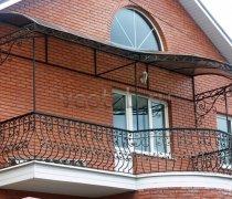 Кованые балконы #25