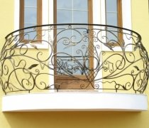 Кованые балконы #29