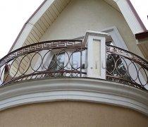Кованые балконы #32