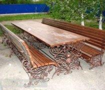 Садовая скамейка #00091 (комплект)