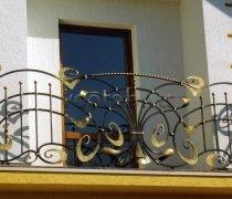 Кованые балконы #33