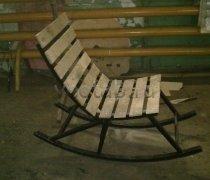Кованые кресла-качалки #33