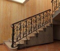 Перила арт.0029 ограждение лестничное/балконное кованое