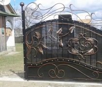 Ворота кованые #029