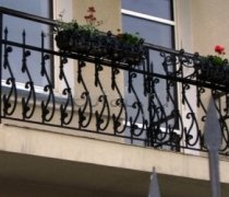 Кованые балконы #35