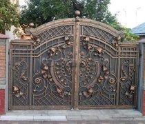 Ворота кованые #030