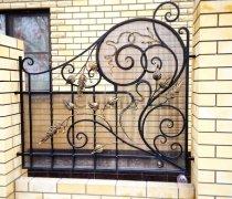 Ворота кованые #001