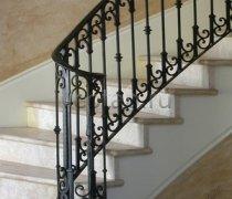 Перила арт.0035 ограждение лестничное/балконное кованое
