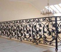 Перила арт.0034 ограждение лестничное/балконное кованое