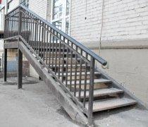 Перила арт.0038 ограждение лестничное/балконное кованое
