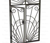 Кованные решетки на окна #44