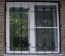 Кованные решетки на окна #98