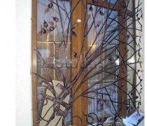 Кованные решетки на окна #96
