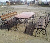 Садовая скамейка #0035