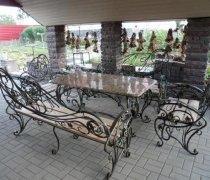Садовая скамейка #0034