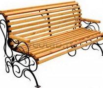 Садовая скамейка #00094