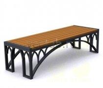 Садовая скамейка #00078