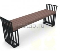 Садовая скамейка #00002