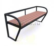 Садовая скамейка #00079