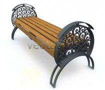 Садовая скамейка #00003