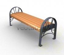 Садовая скамейка #00005