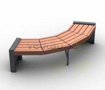 Садовая скамейка #0000124