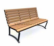 Садовая скамейка #00057