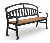 Садовая скамейка #00058