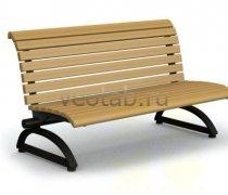 Садовая скамейка #00055