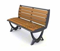 Садовая скамейка #00052