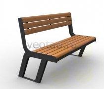 Садовая скамейка #00051