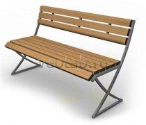 Садовая скамейка #00049