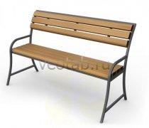 Садовая скамейка #00047