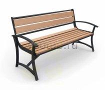 Садовая скамейка #00046