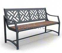 Садовая скамейка #00044