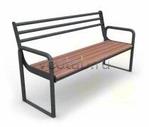Садовая скамейка #00041