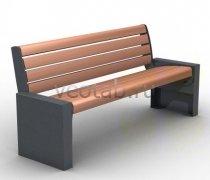 Садовая скамейка #00069