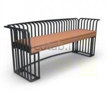 Садовая скамейка #00068