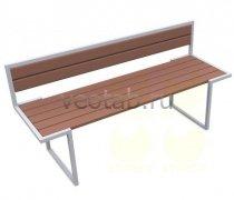 Садовая скамейка #00037