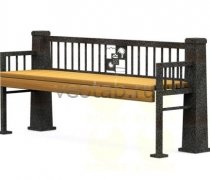 Садовая скамейка #00067
