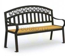 Садовая скамейка #00066