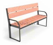 Садовая скамейка #00034