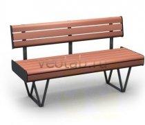 Садовая скамейка #00033