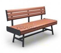 Садовая скамейка #00032