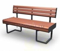 Садовая скамейка #00031