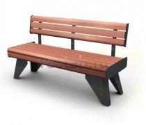 Садовая скамейка #00030